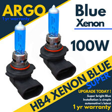 HB4 100W BRIGHT SUPER BLUE XENON LOOK UPGRADE HEAD LIGHT BULBS P22D 12V