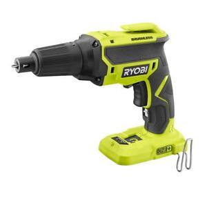 RECON Ryobi P225 18V Cordless Brushless Drywall Screw Gun - Tool Only !!!!!!!!!!