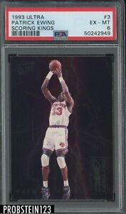 1993-94 Fleer Ultra Scoring Kings #3 Patrick Ewing New York Knicks HOF PSA 6
