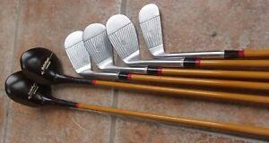 Antique Vintage Walter Hagen Star-Line LW Golf Club Set Great Original Condition