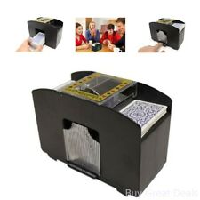 Automatic Card Shuffler Casino Cards Shuffling Machine 4 Deck Unique Gift Ideas