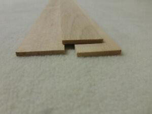 (11.17)  10Stk 100cm Rechteckleisten Buche 3x29mm Vierkant Holzleisten