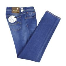 $395 NWT JACOB COHEN J688C 0008W1-4501V Premium Edition Tailored Jeans 36