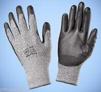 Schnittschutzhandschuhe Schnittfeste Handschuhe Paar EN388 4543 Klasse 5 schwarz