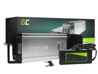Batterie Vélo Electrique 36V 12Ah Li-Ion E-Bike Rear Rack avec Chargeur