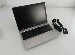 HP Probook 650 G2 15.6in Laptop i5-6200U 2.30 GHZ 4GB 500GB HDD Win 10 Pro