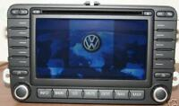 Refurbed VW Passat Golf MFD2 Sat Navigation CD Player + Code GPS Aerial Warranty