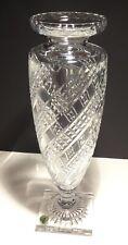 """RARE waterord cristallo ARCADE 14"""" VASO ~ made in Irlanda"""