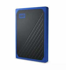 WD 1TB My Passport Go SSD Cobalt Portable External Storage USB 3.0 - WDBMCG00...