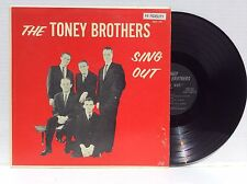 The Toney Brothers Sing Out southern gospel vinyl Lp Nm