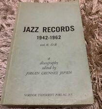 Jazz Records 1942-1962 Vol. 6 : O -R discography by Jorgen Grunnet Jepsen 1963