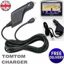 Chargeur VOITURE Rapide Puissance Pour TomTom Sat Nav Navigation GPS aller un xl xxl live