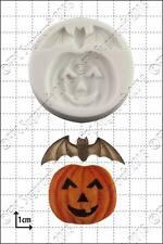 Silicona Molde Calabaza Y Bat | uso alimentario FPC Sugarcraft Envío Reino Unido!