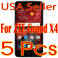 5x New ZTE Grand X4 Screen Protector Film High Definition (HD) Clear  (USA)