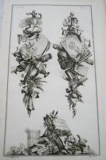 EAU FORTE JEAN CHARLES DELAFOSSE-VOYSARD INTELLIGENCE COMMERCE-TROPHEES 1772