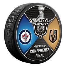 Winnipeg Jets vs Vegas Golden Knights 2018 NHL Western Conference Final Puck