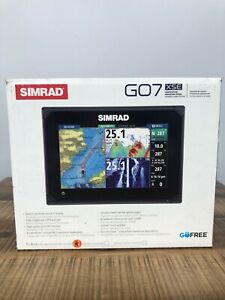 Simrad GO7 XSE Chartplotter Fish Finder Expanded Sonar Edition Brand New