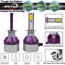 Cree 160W H1 LED Fog Light Driving Lamp Car Headlamp DRL Bulb White Super Bright