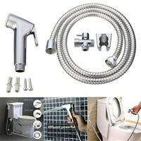 Handheld Toilet Bidet Sprayer Kit Stainless Steel Hand Bidet Faucet for Bathroom