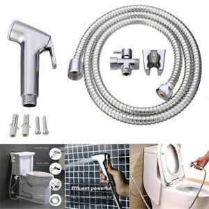 Handheld Toilet Bidet Sprayer Kit Stainless Steel Hand Bidet Faucet for Bathroom