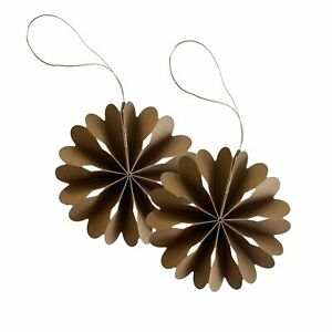 COOEE Design Scandinavian Paper Flowers Christmas Decorations, Brand New in Box