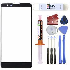 For LG Stylo 2 LS775 Black Repair Outer Front Screen Glass Lens 5ml UV LOCA Glue