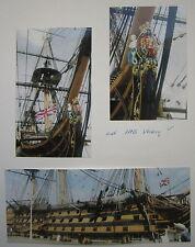 Maritime Museum Portsmouth - HMS Victory - Großbritanien - 3 Farbphotographien