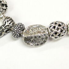3D Turtle Shell - 925 Sterling Silver European Style Charm Bead Fits Most  2066
