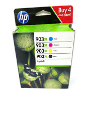 HP 903xl (3hz51ae) BK, C, y, m 4 cartuchos de tinta envase exterior defectuoso n...