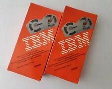 Ibm 1299095 Selectric Ii Typewriter High Yield Correctable Film Ribbon Lot Of 2