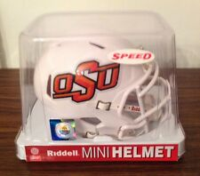 Ncaa College Mini Speed Helmets Oklahoma State Cowboys By Riddell