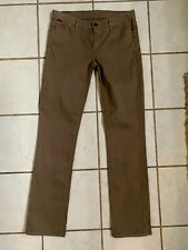 GOLDSIGN NEW! Khaki Slim Leg MISFIT Jeans Sz 28 NWOT!