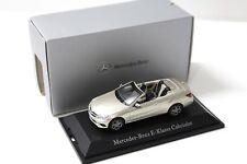 1:43 Kyosho Mercedes E-Klasse Cabriolet beige DEALER NEW bei PREMIUM-MODELCARS