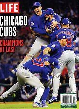Life Magazine 2016 Baseball MLB World Series Champions at Last CHICAGO CUBS