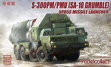 Modelcollect 1/72 Kits S-300PM/PMU SA-10 Grumble 5P85S Missile Launcher UA72045