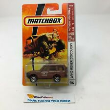 Land Rover Discovery #96 * Brown * Matchbox small Crack Bubble * JD10