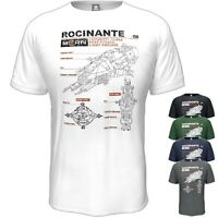 The Expanse T-Shirt Rocinante Inspired Birthday Gift Vintage Style S - 5XL