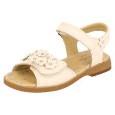 Calzado de niña sandalias de piel color principal blanco