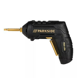 Parkside 4V Cordless Screwdriver PAS 4 B4 Made In Germany 3 Yrs Warranty