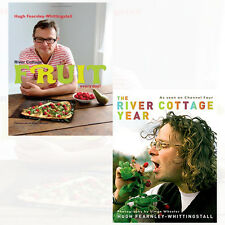 River Cottage Fruit Every Day! and River Cottage Year 2 Books Collection Set NEW