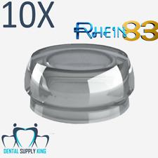 X 10 Dental Implant Locator Silicone Flat Standard Retention Caps