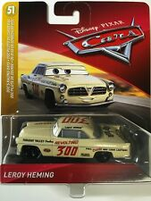 DISNEY PIXAR CARS LEROY HEMING DOC'S RACING DAYS #300