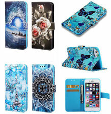 PU Leather Wallet Case Flip Cover Stand Card for Samsung LG Xiaomi Lots Model
