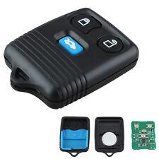Nueva Alarma 3 Botón Remoto Clave Fob Para Ford Transit Mk6/Connect + información de codificación