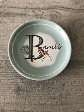 Disney Bambi Ceramic Teabag Rest / Teaspoon Rest - Brand New