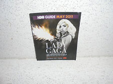 HBO Guide Booklet May 2011 Lady GaGa Cool Collectable ( Last One )