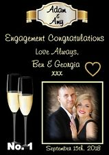 Personalised Engagement Poster (6 DESIGNS)