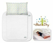 NEW My Bed e Dry - Eco-Friendly Waterproof Bed Pad Set, Reusable Mats Bedwetting