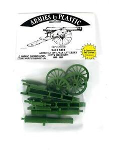 Armies in Plastic American Civil War Artillery 24 Pounder Siege Gun 1861-1865