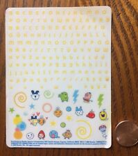 2004 Bandai Tamagotchi Connection Nail Decal Art & Related Logos Complete